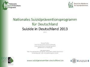 Suizidzahlen2013